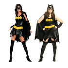 Womens Batgirl Rubies Costume New Adult Fancy Dress Ladies Sexy Superhero Outfit