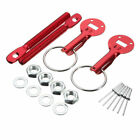 Universal Car Alloy Mount Bonnet Hood Pins Lock Latch Kit Racing Cars Motorcycle