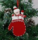 Personalised Family of 1,2,3,4,5,6 Christmas Tree Ornament - Baby Mitten Decor