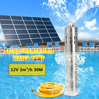 12V-24V 2-3-5m³-h Solar Submersible Water Pump Stainless Steel 10-30M-40M-80M