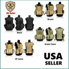 Tactical Military Vest Molle for Airsoft Paintball Combat Swat Assault Army EG