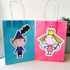 Ben & Holly *HANDMADE* Lolly Loot Party Bags. Supplies Bunting Banner Favor Game