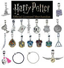 Official Harry Potter Jewellery Slider Charms Silver Plated