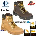 CAT Heavy Duty Soft Toe Oil & Slip Resistant Leather Work Safety Boot
