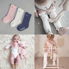 Toddler Kid Baby Cute Girl Knee High Long Socks Cotton Casual Stockings 0-4Years