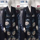 ZARA NEW A/W 2017. BLACK FLORAL BLAZER JACKET WITH SASH BELT. REF 8166/733.