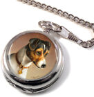 Jack Russell by Carl Reichert Full Hunter Pocket Watch (Optional Engraving)