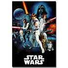Star Wars A New Hope Classic Movie Canvas Poster Art Prints 12x18 24x36inch $26.43 CAD on eBay