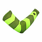 BUBO Arm sleeve with Safety pattern- Green Arrow Stripe