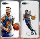 STEPHEN CURRY Basketball Art Case for iPhone 5 6 6+ 7 7+ 8 8+ TPU Soft Plastic