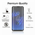 Case FriendlyTempered Glass Screen Half Film Cover for Samsung Galaxy S7 S8 S9