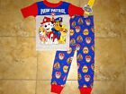Внешний вид - NWT Paw Patrol Boy's Cotton Pajamas PJs Pants Shirt Blue Marshall Chase 3T 4T 5T