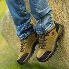 3C Camel Men's Running Hiking Trail  Athletic Brown Mid High Waterproof Boots