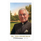 USPS New Father Theodore Hesburgh coil of 50