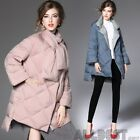 New Winter Jacket Women Loose And Thick Medium Long Coat Down Jacket