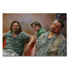 The Big Lebowski Classic Movie Art Canvas Poster Prints 8x12 24x36 inches