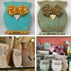 OWLS HOME DECOR Holiday Gift CERAMIC Handmade Figurine Sculpture Collectible