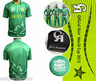 2016 WorldCup T20 Mens CA Pakistan Official Cricket Team Twenty20 T Shirt Adult