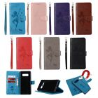 10pcs/lot Dancing Friend Embossed 2 in 1 PU Leather Case for iPhone Samsung Huawei