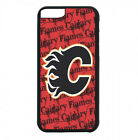 Calgary Flames Phone Case For iPhone X XS Max 8 7 6 PLUS 5 4 Black TPU Cover $13.95 USD on eBay