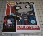 Funko Pop! Tees: Harley Quinn Queen of Diamonds-Size Large & XL T-Shirt 79 NEW image