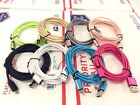6FT 2M Fabric Nylon Micro USB Cord Charging Cable For Samsung LG ZTE Android