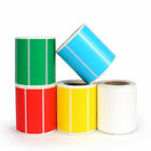 Colorful Thermal Paper Adhesive Thermal Sticker Paper Blank Label Printing Paper