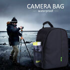 Waterproof Large DSLR Camera Backpack Laptop Bag for Canon Nikon with Rain Cover