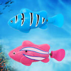 Battery Powered Robot Smart Fish Electronic Fish Toys Lighting Swimming Bath Toy