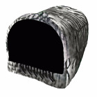 Cave Bed for Dogs and Cats Made in USA Animal Print