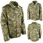 KIDS ARMY CAMOUFLAGE PADDED COAT 3-13 YEARS RIPSTOP JACKET BOYS GIRLS BTP CAMO