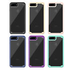 10pcs/lot Clear Dual Layer Hybrid Armor Shockproof Hard Case For iPhone 8 8 plus