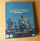 Star Wars Rogue One Steelbook Zavvi Exclusive 3D BluRay £22.0 GBP