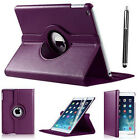 New iPad 360 Rotating Stand Case Cover For 2017 iPad 5th Generation 9.7&quot;- Model  <br/> iPad 2017 Pro 9.7&quot; Case + Free Stylus + Fast Delivery