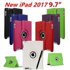 Kyпить New iPad 360 Rotating Stand Case Cover For 2017 iPad 5th Generation 9.7