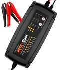 agm batteries uk - 12V 2A/4A/8A Smart Car Battery Charger Maintainer For AGM GEL WET Batteries
