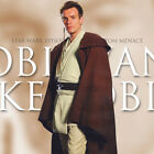 UK Adult Star Wars Obi-Wan Jedi Knight Suit Cloak CosplayCostume set Halloween