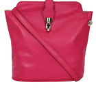 ladies Soft Italian leather bag with shoulder strap