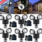 security light sensor settings - LOT 22 LED Garden Outdoor Solar Powerd Motion Sensor Light Security Flood Lamp K