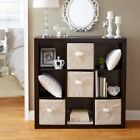Better Homes and Gardens 9 Cube Organizer Storage Bookcase, Multiple Colors