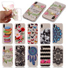 Ultra Slim Soft TPU Clear Rubber Case Lovely Painting Cover For iPhone 8 Plus X