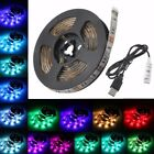 GLISTENY 5050 RGB LED Strip Light TV Back Lighting Kit Waterproof Chritmas Lamp