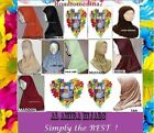 AL AMIRA CHILDRENS GIRLS KIDS JERSEY LACE TRIM 1 PIECE  HEAD SCARF HIJAB ISLAM