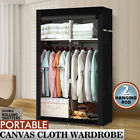 53  Portable Closet Wardrobe Clothes Rack Storage Organizer With Shelf