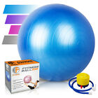 Exercise Ball Gym Large Yoga Swiss Pregnancy Birthing Ball with Pump 65cm Boxed