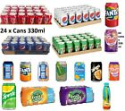 Pepsi 330ml x 24 cans Soft Drinks 7up Coca Cola Pepsi Cans All Fizzy Drinks Cans £16.49  on eBay