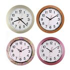 16-inch Large Easy to Read 3D Numerals Quartz Quiet Non-ticking Wall Clock