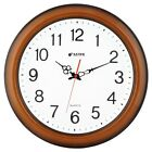 16 Large Easy to Read 3D Numerals Quartz Quiet Non-ticking Wall Clock - W00149