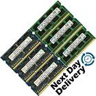 Memory Ram Laptop Notebook DDR3 PC3 10600 s 1333 MHz 204 pin SODIMM 2 4 X GB Lot Seller refurbished