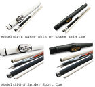 Champion Spider Pool Cue Stick(Gator or Snake Leather wrap), Cue case, Glove $99.72 USD on eBay